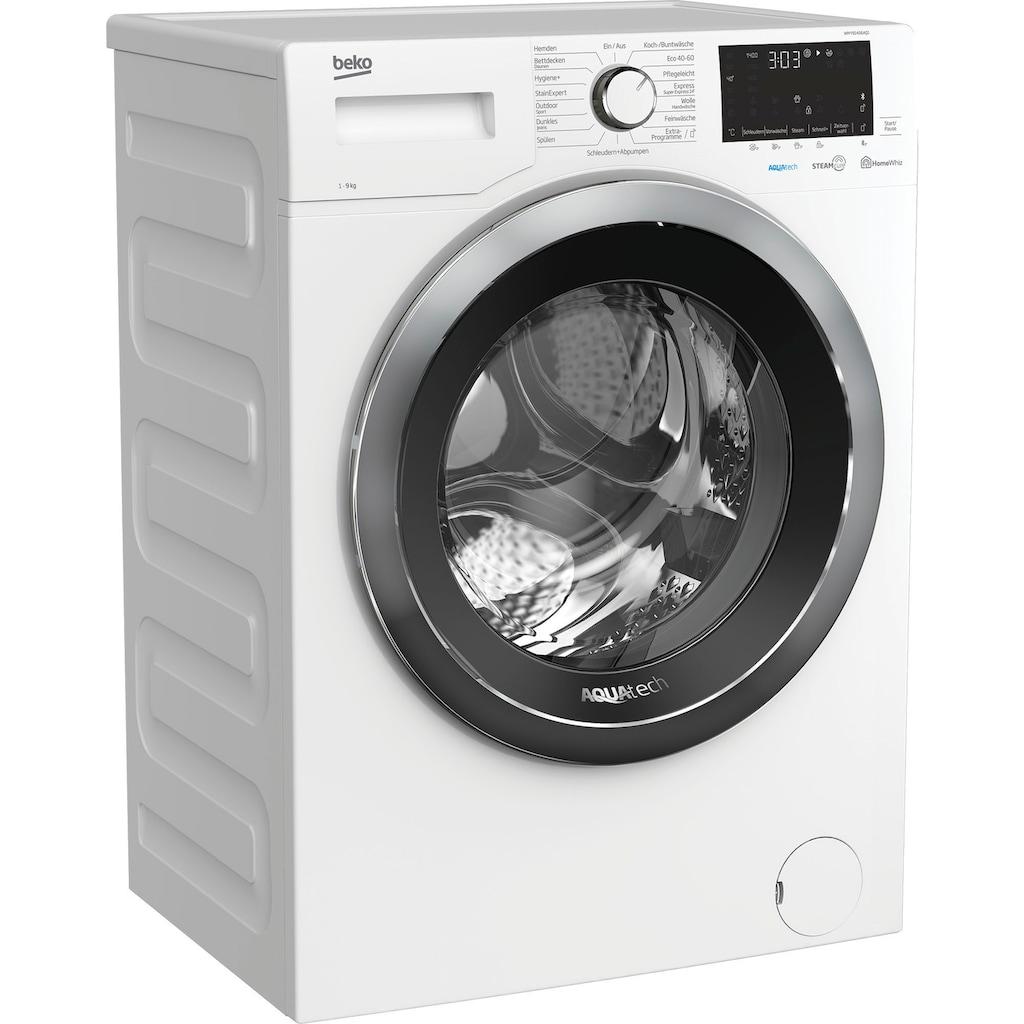 BEKO Waschmaschine »WMY91466AQ1«, WMY91466AQ1, mit Nachlegefunktion