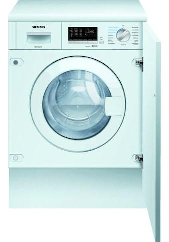 SIEMENS Einbauwaschtrockner »WK14D542«, iQ500 kaufen