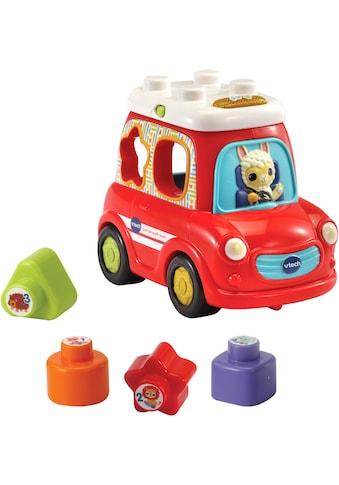 Vtech® Steckspielzeug »Sortierspaß - Auto«, mit Sound- und Lichteffekten kaufen