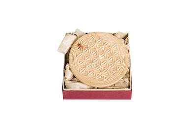 ZirbenLüfter® Glasuntersetzer »Zirbenholz Untersetzer 13cm«, Geschenksverpackung kaufen