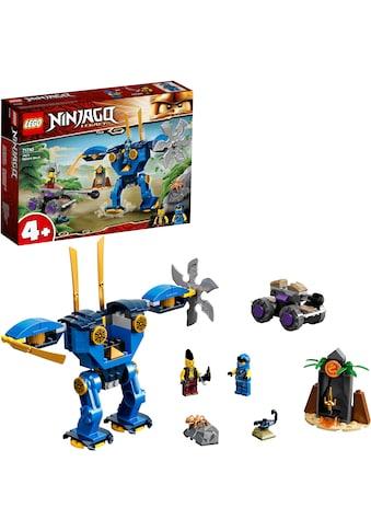 LEGO® Konstruktionsspielsteine »Jays Elektro-Mech (71740), LEGO® NINJAGO®«, (106 St.),... kaufen