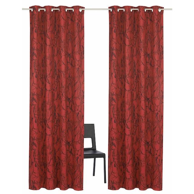Vorhang, »Bamian«, my home, Ösen 2 Stück