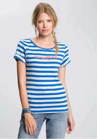 KangaROOS T-Shirt, mit großem Logoschriftzug-Druck kaufen