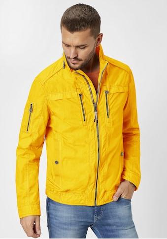 Redpoint Blouson »Byron«, garment dye, Baumwolle kaufen