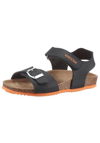 Geox Kids Sandale »GHITA BOY«, mit Softfußbett kaufen