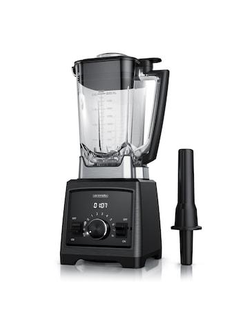 Arendo Standmixer »Mixer - 2 Liter - 32.000 U/min - schwarz gebürstet«, 2000 W, 2000 W... kaufen