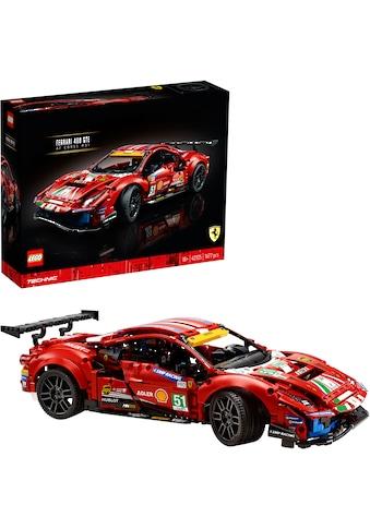 """LEGO® Konstruktionsspielsteine »Ferrari 488 GTE """"AF Corse #51"""" (42125), LEGO®... kaufen"""