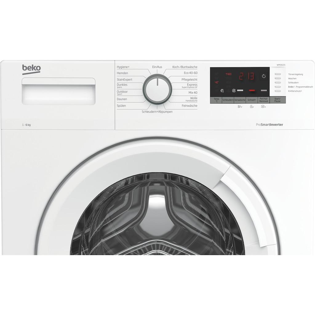 BEKO Waschmaschine »WMO6221«, WMO6221