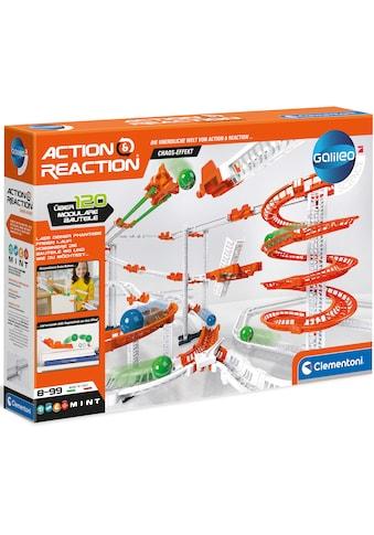 Clementoni® Kugelbahn-Bausatz »Galileo Action & Reaction Chaos Effekt«, Made in Europe kaufen