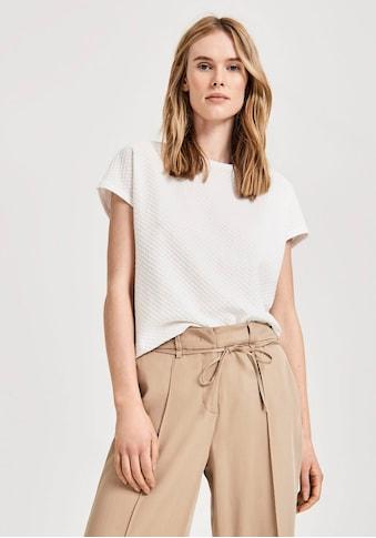OPUS Blusenshirt »Semka«, mit Lochstickerei Muster kaufen