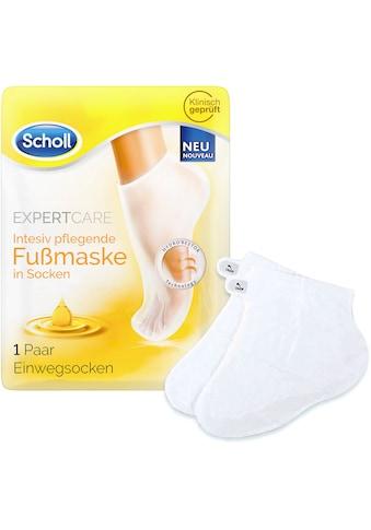 Scholl Fußmaske »ExpertCare Intensiv pflegend mit 3 wertvollen Ölen«, in Socken kaufen