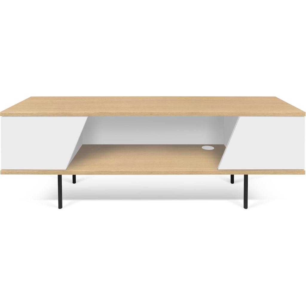 TemaHome Lowboard »Dixie«, in eleganter Holzoptik und viel Stauraum, Breite 140 cm