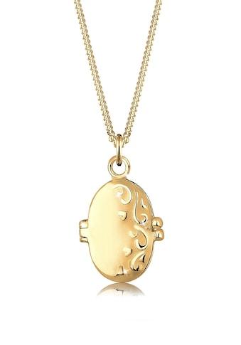 Elli Collierkettchen »Medaillon Ornament 925 Sterling Silber« kaufen
