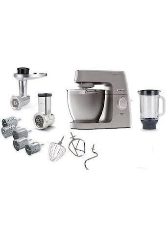 KENWOOD Küchenmaschine Chef XL Elite KVL6420S mit Gratiszubehör im Wert von 479,97UVP, 1400 Watt, Schüssel 6,7 Liter kaufen