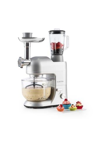 Klarstein Küchenmaschine Rührmaschine Fleischwolf Mixer 1200W »Lucia 2G« kaufen
