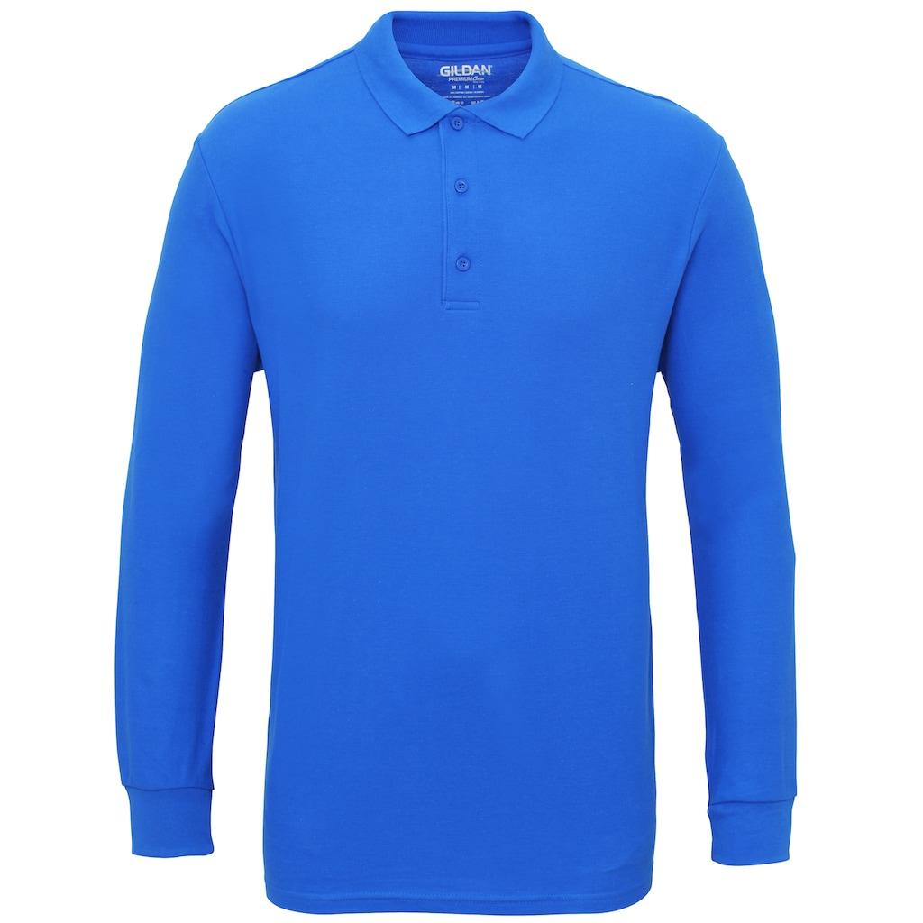 Gildan Poloshirt »Herren Pique Polo-Hemd, langärmlig«