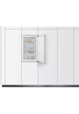 SIEMENS Einbaugefrierschrank iQ300, 87,4 cm hoch, 54,1 cm breit kaufen