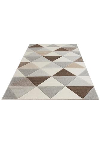 Teppich, »Berlad«, Bruno Banani, rechteckig, Höhe 13 mm, maschinell gewebt kaufen
