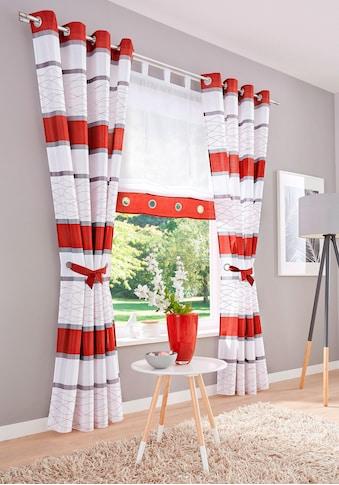 Vorhang, »Maria«, my home, Ösen 2 Stück kaufen