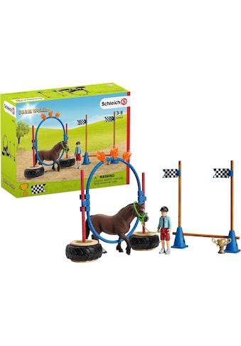 """Schleich® Spielfigur """"Farm World, Pony Agility Rennen (42482)"""" kaufen"""