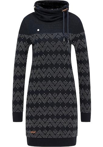 Ragwear Plus Sweatkleid »CHLOE PLUS«, mit Zig Zag Alloverprint kaufen