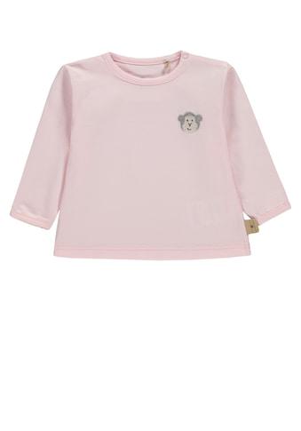 Bellybutton Langarmshirt, Äffchen Applikation kaufen