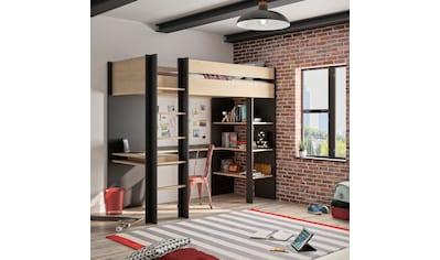 Gami Etagenbett »DUPLEX«, mit integriertem Schreibtisch kaufen