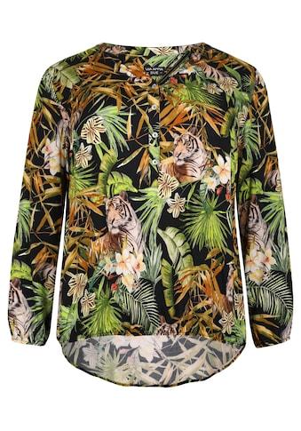 VIA APPIA DUE Sommerliche Bluse mit auffälligem Print kaufen