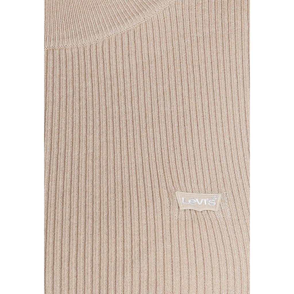 Levi's® Strickpullover »Crew Rib Sweater«, mit Batwing Logo