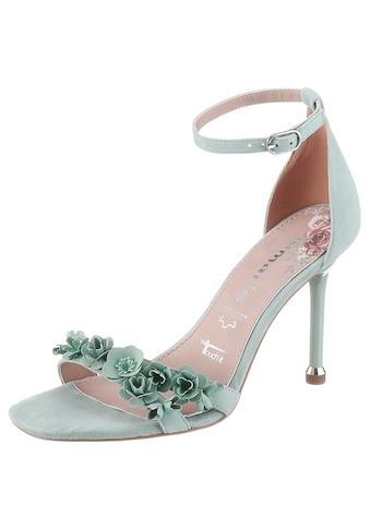 Tamaris High-Heel-Sandalette »Calida«, mit Metall-Blüten kaufen