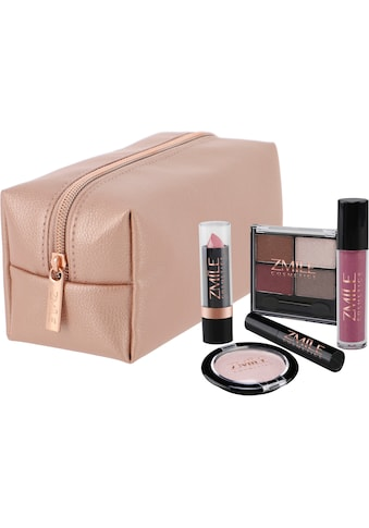 ZMILE COSMETICS Kosmetik-Koffer »Beauty in the bag! Roségold«, (10 tlg.) kaufen