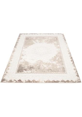 Carpet City Teppich »Platin 8058«, rechteckig, 11 mm Höhe, Wohnzimmer kaufen