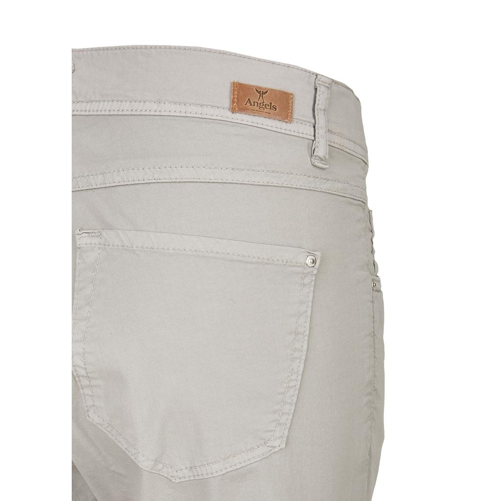 ANGELS 7/8-Jeans,Ornella' in unifarbenem Design