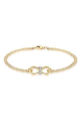 Elli Armband »Infinity Endlos Kristalle 925 Silber« kaufen
