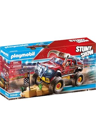 Playmobil® Konstruktions-Spielset »Monster Truck Horned (70549), Stuntshow« kaufen