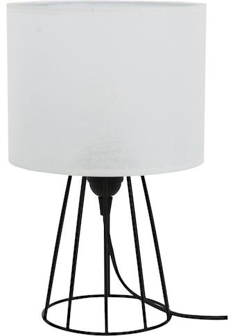 BRITOP LIGHTING Tischleuchte »LUCIE«, E27, Mit Textilschirm und Gestell aus Metall,... kaufen