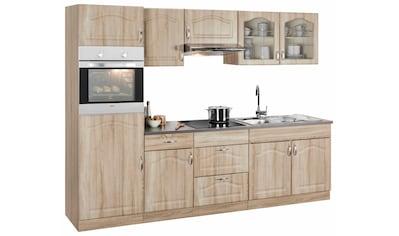 wiho Küchen Küchenzeile »Linz«, mit E - Geräten, Breite 270 cm kaufen