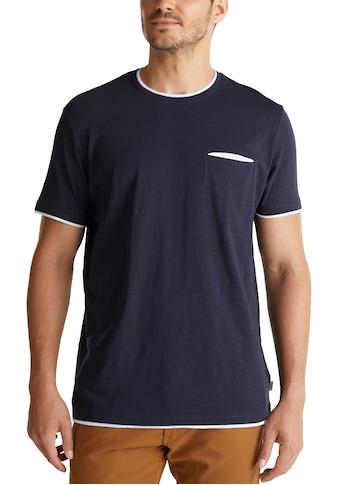Esprit T-Shirt, in Slub-Yarn-Optik kaufen