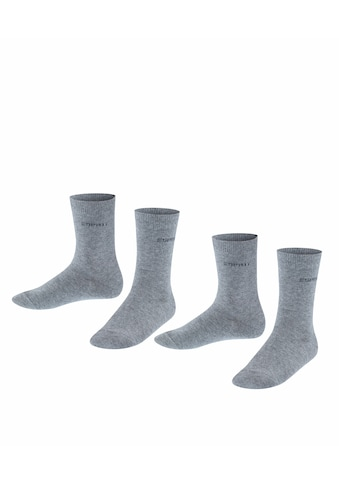 Esprit Socken »Foot Logo 2-Pack«, (2 Paar), ein unbeschwerter Tragekomfort kaufen