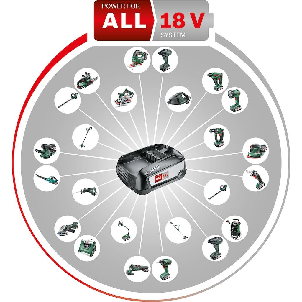 BOSCH Akku-Schlagbohrmaschine »AdvancedImpact 18«, (Set), inkl. Akku, Ladegerät, Bohrfutter und Koffer