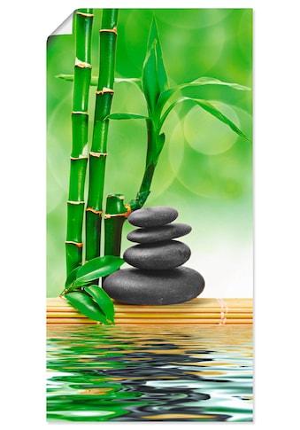 Artland Wandbild »Spa Konzept Zen Basaltsteine«, Zen, (1 St.), in vielen Größen &... kaufen