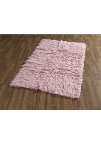 Wollteppich, »Flokati 1500 g«, Böing Carpet, rechteckig, Höhe 60 mm, handgewebt kaufen