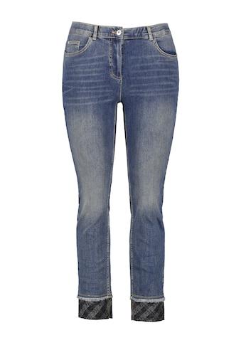 Samoon 7/8 - Jeans »Betty Jeans mit Karo - Details« kaufen