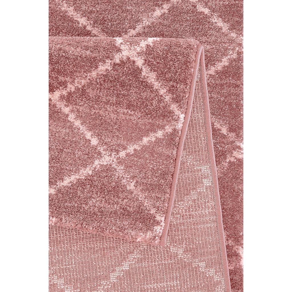 Guido Maria Kretschmer Home&Living Läufer »Paris«, rechteckig, 13 mm Höhe, gewebt, Rauten Design