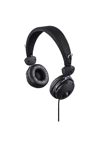 "Hama Kopfhörer ""Fun4Phone"", On-Ear, Mikrofon, Schwarz kaufen"