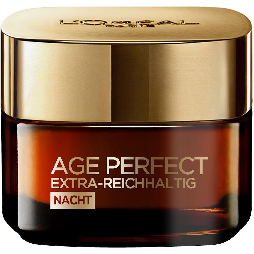L'ORÉAL PARIS Nachtserum »Age Perfect Extra-Reichhaltig«, mit Manuka Honig