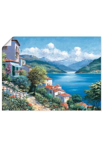 Artland Wandbild »Urlaubsaussicht«, Gewässer, (1 St.), in vielen Größen & Produktarten... kaufen