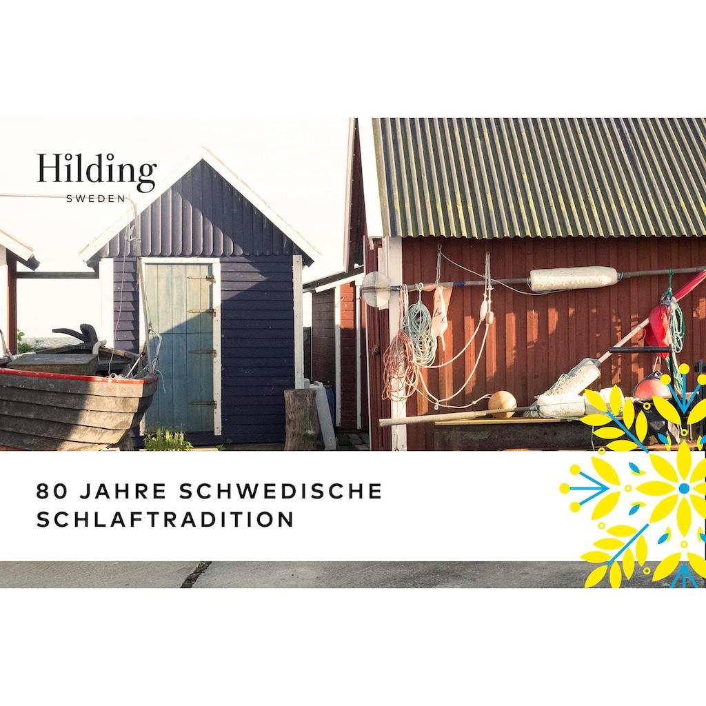 Hilding Sweden Topper »Nature«, (1 St.), Raumgewicht: 65, Höhe 6 cm, Topseller
