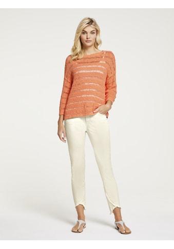 Pullover mit Ajour - Strick kaufen