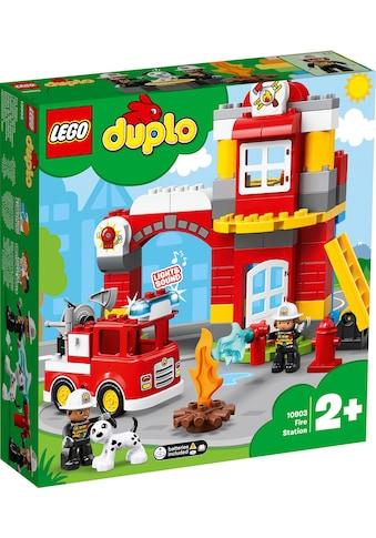 LEGO® Konstruktionsspielsteine »Feuerwehrwache (10903), LEGO® DUPLO™«, (76 St.), mit... kaufen